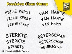 Precision Clearstamp Tekst