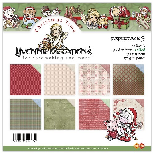 Yvonne Creations - Paperpack 3