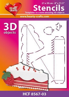 Hearty Crafts DESIGN Stencil cake 21 x 30 cm