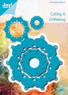 Joy! stencil rond Cutting & Embossing