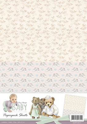 Amy Design - Baby Collection - Paperpack background sheets 1