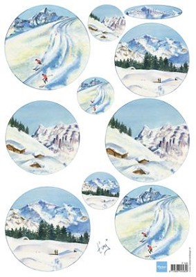 knipvel Tiny`s snow mountains