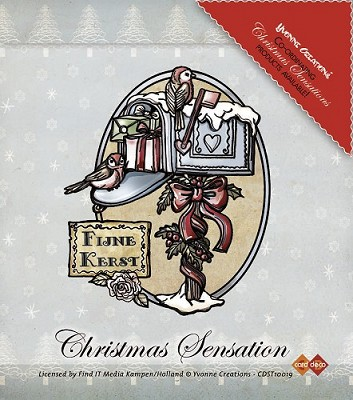 Stamps - Yvonne Creations - Christmas Sensation - Kerstbrievenbus