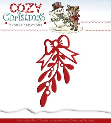 Die - Yvonne Creations - Cozy Christmas - Mistletoe
