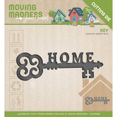 Die - Yvonne Creations - Moving Madness - Home Sweet Home