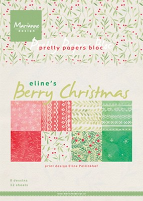 Pretty Papers bloc Berry Christmas