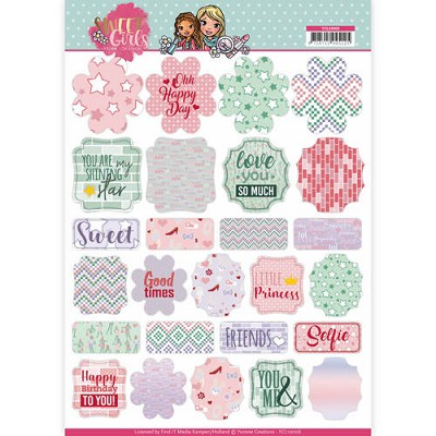 Labels - Yvonne Creations - Sweet Girls