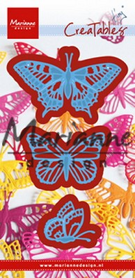 Creatables stencil Tiny`s butterflies set