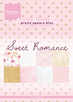 Pretty Papers bloc Sweet Romance