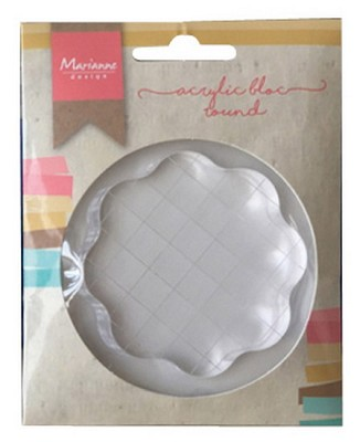 MD Acrylic stamp bloc small