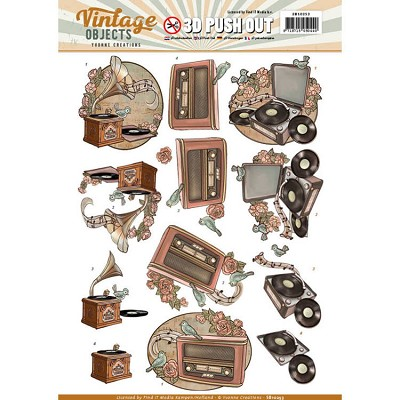 Push Out - Yvonne Creations - Vintage Objects - Vintage Music