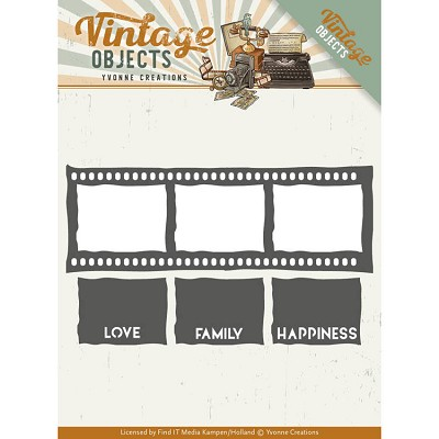 Dies - Yvonne Creations - Vintage Objects -Film Strip