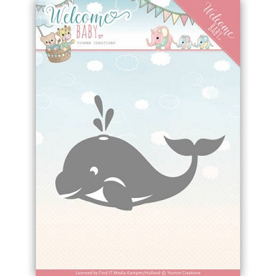 Dies - Yvonne Creations - Welcome Baby -LLittle Orca
