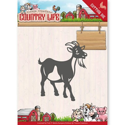 Dies - Yvonne Creations - Country Life Goat