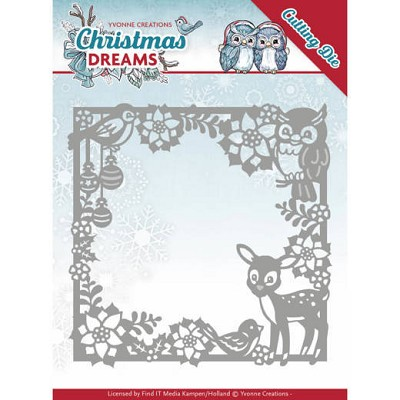 Dies - Yvonne Creations - Christmas Dreams - Christmas Animal Frame