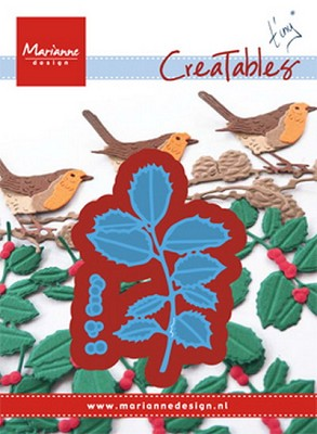 Creatables stencil Tiny`s Holly