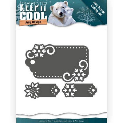 Dies - Amy Design - Keep it Cool -Cool Tags
