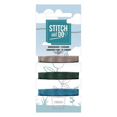 3 x stitch en do 3 kleuren kaart