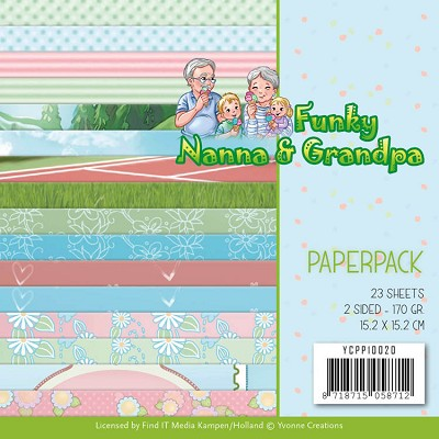 Paperpack - Yvonne Creations - Funky Nanna`s