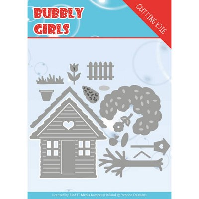 Dies - Yvonne Creations - Bubbly girls- In the Garden