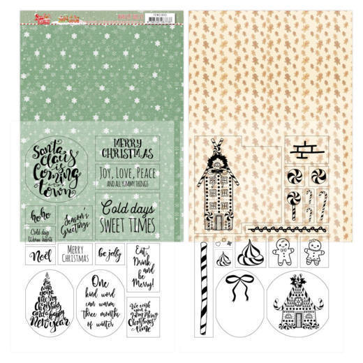 Mica Sheets - Yvonne Creations - Sweet Christmas