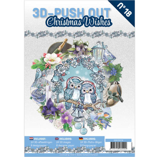 3D Pushout Book 18 Christmas Wishes