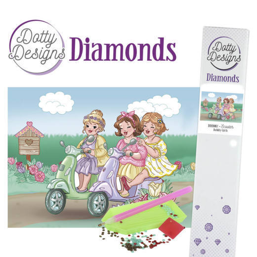 Dotty Designs Diamonds -  Bubbly Girls - Scooter