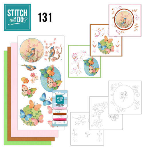 Stitch and Do 131 - Jeanine's Art - Birds and Blossom