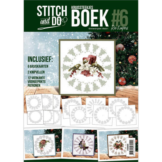 Stitch and Do Boek 6 - Christmas