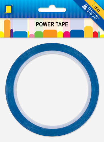 Power Tape 10m x 3 mm inner box