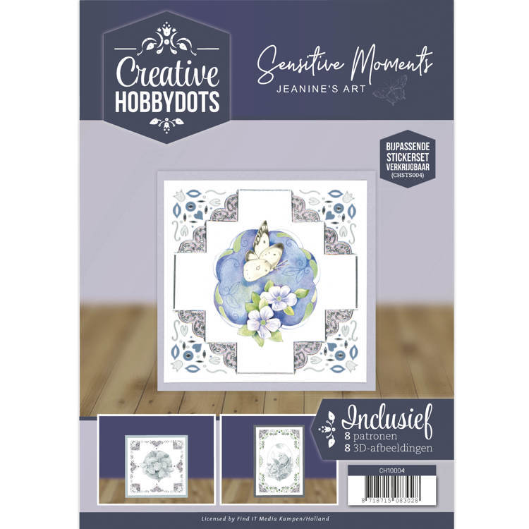 Creative Hobbydots 4 - Jeanine's Art - Sensitive Moments