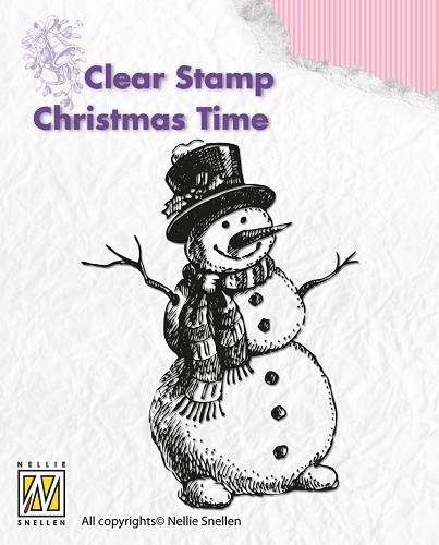 Clearstamp - Christmas Time - Snowman