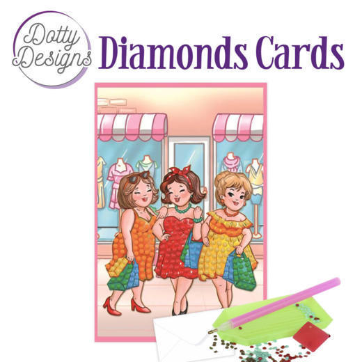 Dotty Designs Diamonds Cards - Bubbly Girls Shopping