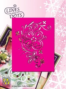 Lines & Dots stencil Nellie s Choice