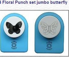 FLORAL PUNCH SET JUMBO BITTERFLY