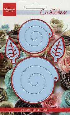 Creatables stencil chinese rose
