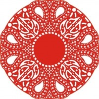 CLD Die Celtic Fire Doily