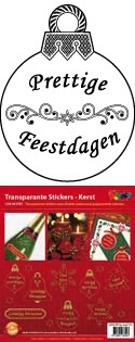stickers Kerstteksten
