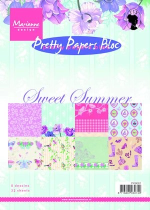 Pretty Papers bloc Sweet summer