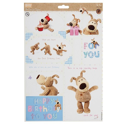 A4 Die-Cut Toppers - Boofle™ (Birthday)