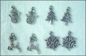 Set charms winter