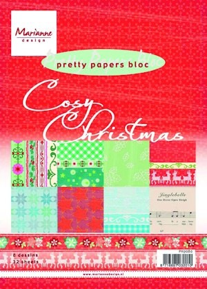 Pretty Papers bloc Cosy Christmas