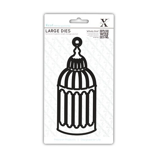 LARGE DECORATIVE DIES  - BIRDCAGE 1