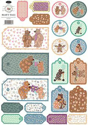 stansvel Bear`s Tags