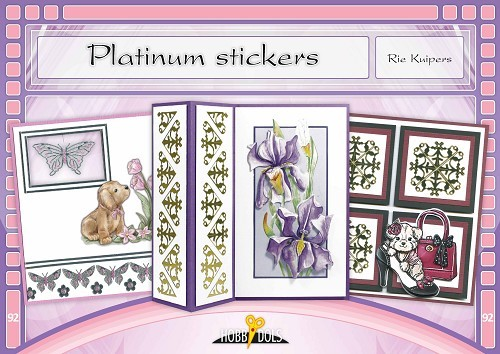 HD092 - Platinum stickers