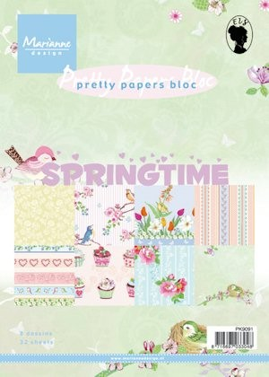 Pretty Papers bloc Spring time
