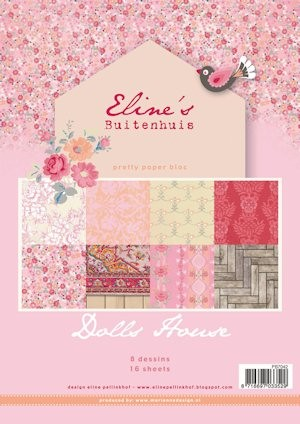 Pretty Papers bloc Eline`s Doll House