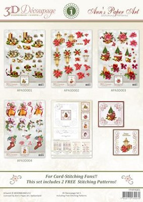 3D Decoupage Set 1