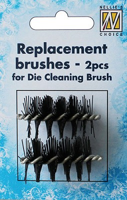 2 Spare brushes for Die cleaning brush DCB001