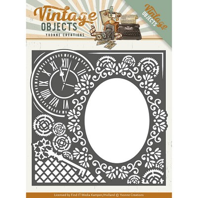 Dies - Yvonne Creations - Vintage Objects - Endless Times Frame